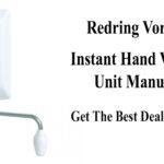 Redring Vortex Instant Hand Wash Unit Manual